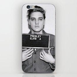ELVIS PRESLEY ARMY MUGSHOT iPhone Skin