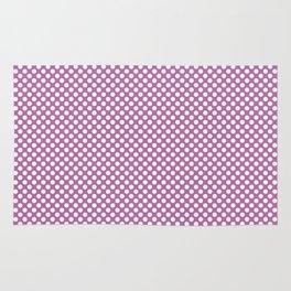 Bodacious and White Polka Dots Rug