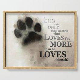 True Love - By Sharon Cummings Words By Billings Serving Tray