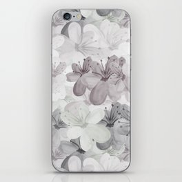 Waterflowers iPhone Skin