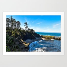 Coastal Cove - Oregon Art Print