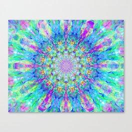 Galactic Mantra Canvas Print