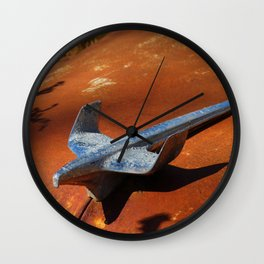 Fly Like An Eagle Wall Clock