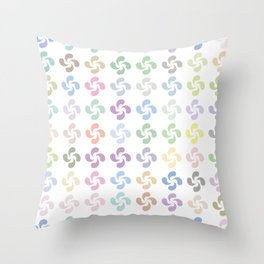 Lauburu Throw Pillow