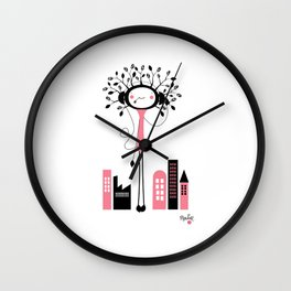 NenatreeMusic Wall Clock