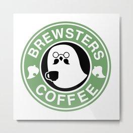 Brewsters Coffee  Metal Print