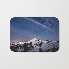 Mount Baker - Nature Photography Bath Mat