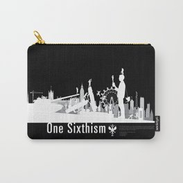 One Sixth Ism (White World) Carry-All Pouch