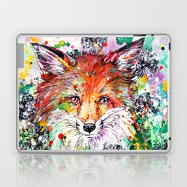 Hide and Seek - Fox Painting Laptop & iPad Skin
