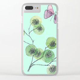 a touch of summer fragrance Clear iPhone Case