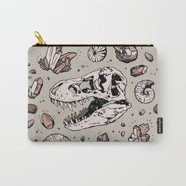 Geo-rex Vortex | Rose Quartz Carry-All Pouch