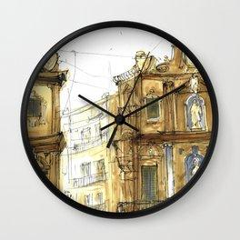Old Palermo Wall Clock