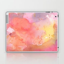 Sunset Color Palette Abstract Watercolor Painting Laptop & iPad Skin