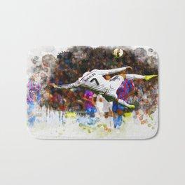 Cristiano Ronaldo - THE TRADE MARK KICK Bath Mat