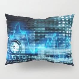 Medical Technology in the Healthcare Industry Concept Pillow Sham