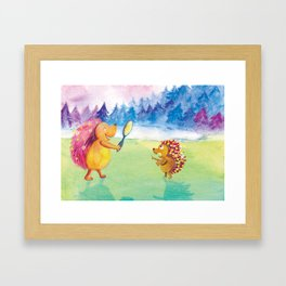 The Revelation Framed Art Print