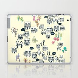 Forest Of Owls Laptop & iPad Skin