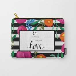 Do it with Love Carry-All Pouch