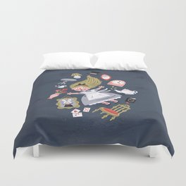 Alice in Wonderland Duvet Cover