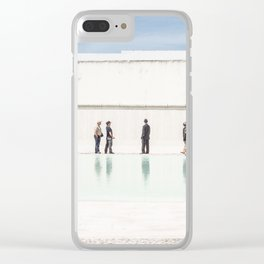 Memorial to the soldiers Clear iPhone Case