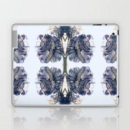Blue Toile Laptop & iPad Skin