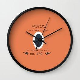 Rotom  Wall Clock