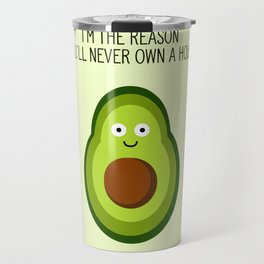 Smug Avocado Travel Mug