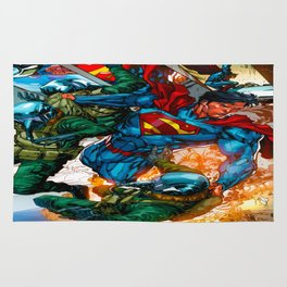 Superman - Judgement Day Rug