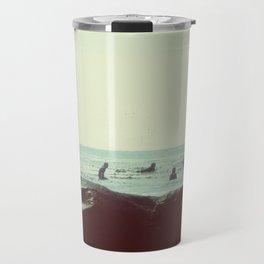 coastal vibes Travel Mug