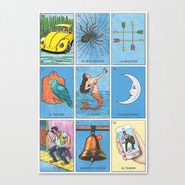 La Technology Board Canvas Print
