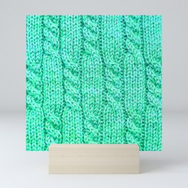Knitting_023_by_JAMFoto Mini Art Print