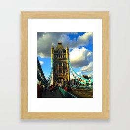 Tower Bridge London United Kingdom Framed Art Print