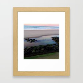 FRANCE SEASIDE Framed Art Print