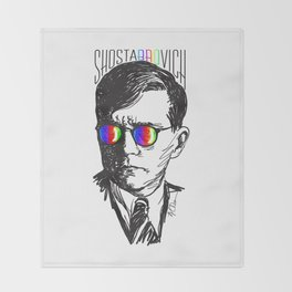 Shostabrovich Throw Blanket