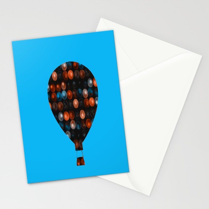 My Beautiful balloon Stationery Cards