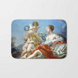 Allegory Of Music Bath Mat