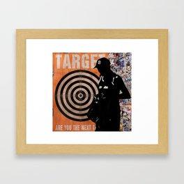 Next Target Framed Art Print