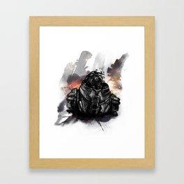 Forgive the insubordination - Galaxy Framed Art Print