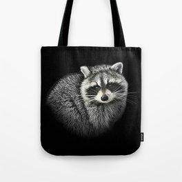 A Gentle Raccoon Tote Bag