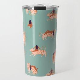 Tigers and girls Travel Mug