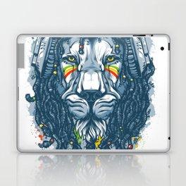 Lion with Dreadlocks Laptop & iPad Skin