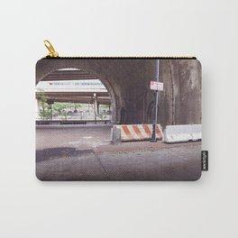Under the Brooklyn Bridge, a Shutdown Skatepark Carry-All Pouch
