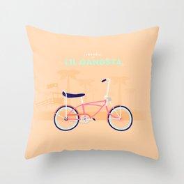 Lil' Gangsta Throw Pillow