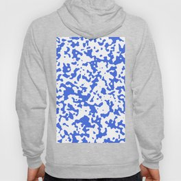 Spots - White and Royal Blue Hoody
