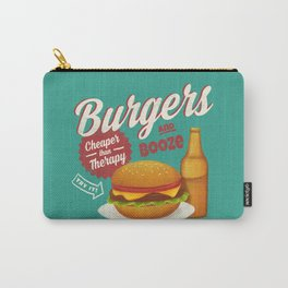 Burgers and Booze Carry-All Pouch