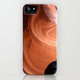 Antelope Canyon Reddish And Blue Tones iPhone Case