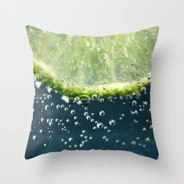 Lemony Limy Throw Pillow