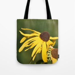 Yellow Whispers Tote Bag