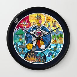 Life of Hanuman Wall Clock