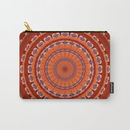 Fall to Winter Mandala Carry-All Pouch